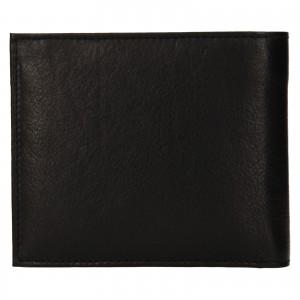 Pánska kožená peňaženka SendiDesign Bredly - čierna