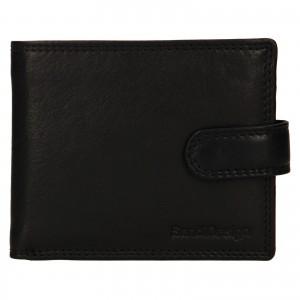 Pánska kožená peňaženka SendiDesign Dowsn - čierna