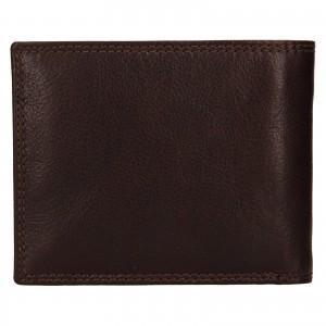 Pánska kožená peňaženka SendiDesign Lopezz - čierna