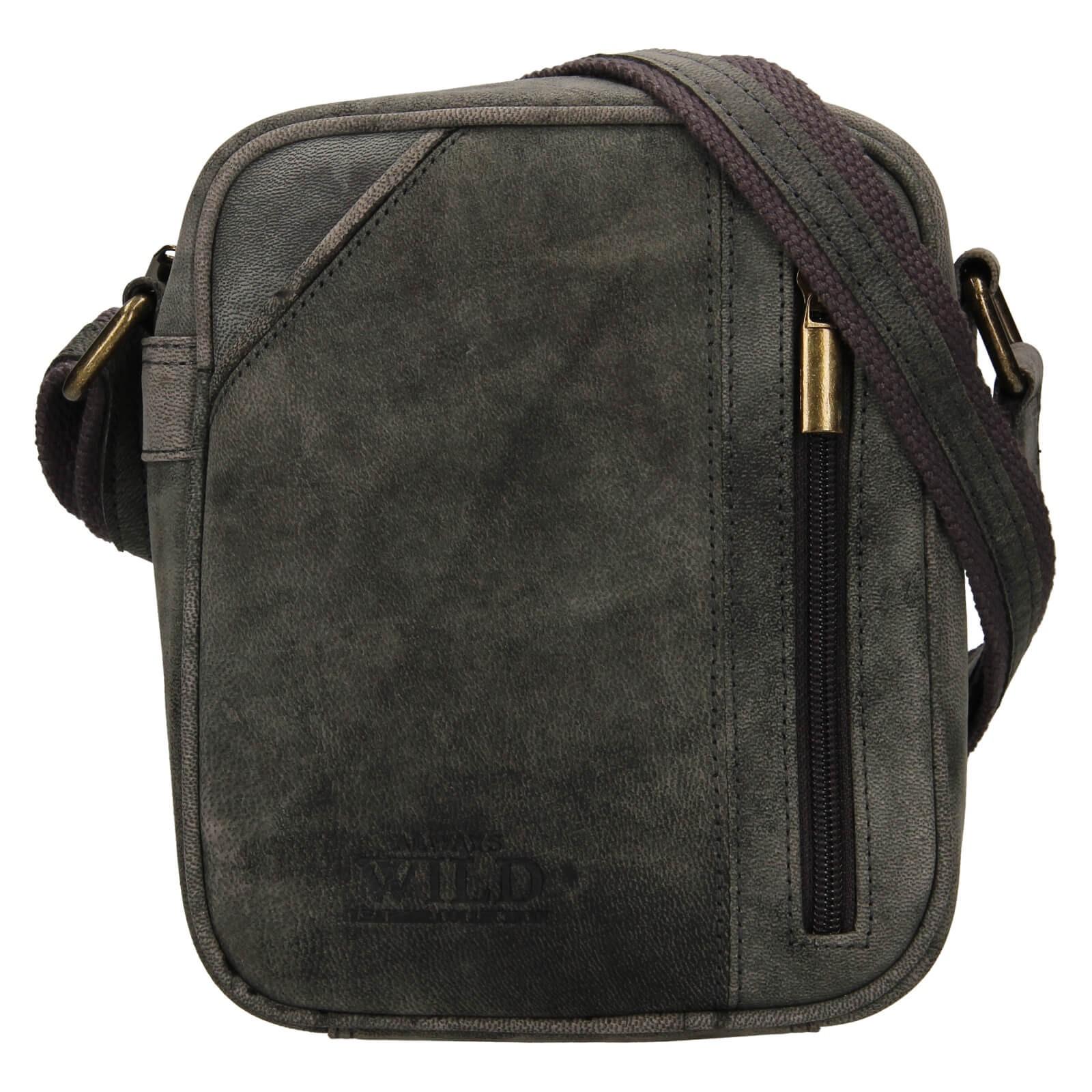 Pánská taška přes rameno Always Wild Merro - čierna