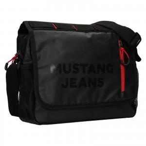 Pánska taška cez rameno Mustang Ferer - čierna