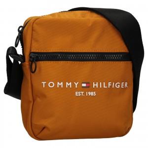 Pánska taška cez rameno Tommy Hilfiger Jeans Kammo - hořčicová