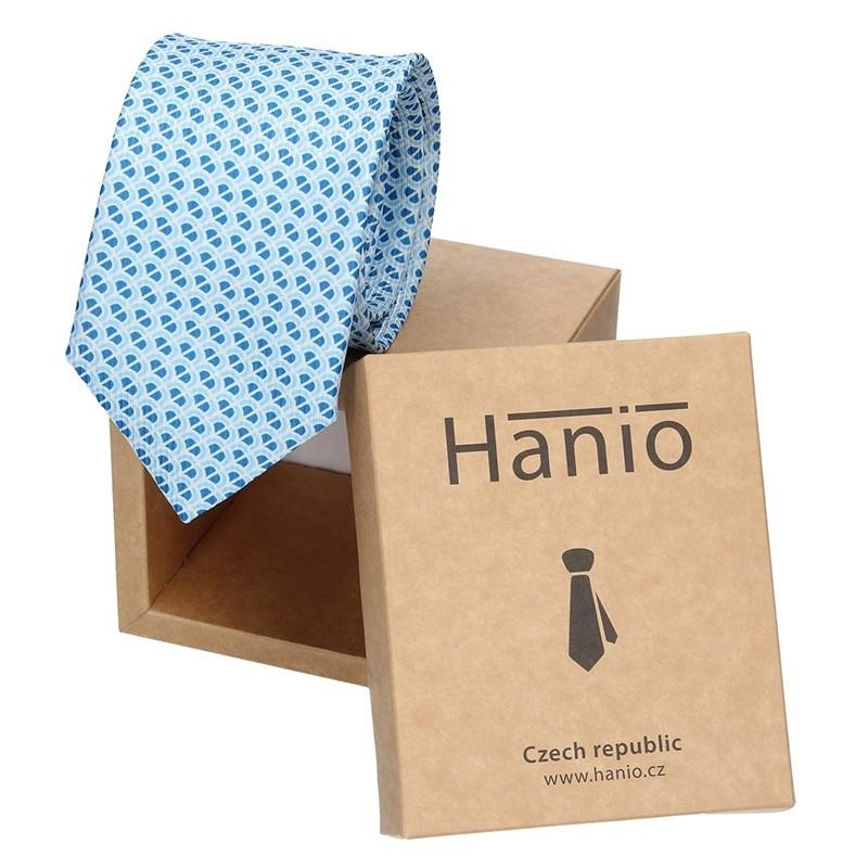 Pánska kravata Hanio Broby - modrá