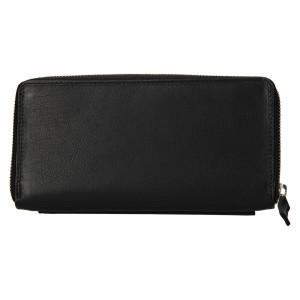 Dámska kožená peňaženka SendiDesign Julie - čierna