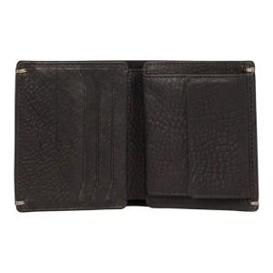 Pánska kožená peňaženka Burkely Sten - čierna