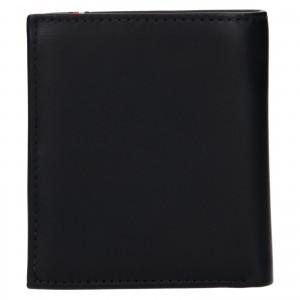 Pánska kožená peňaženka Tommy Hilfiger Rejno - čierna