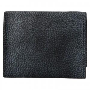 Dámska kožená slim peňaženka Lagen Déborah- šedo-černá
