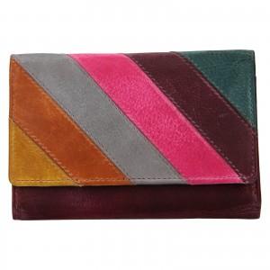 Dámska kožená peňaženka Lagen Estafania
