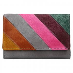 Dámska kožená peňaženka Lagen Felicia