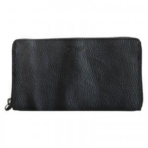 Dámska kožená peňaženka Lagen Libertad - šedo-čierna