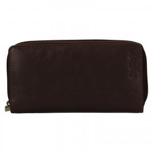 Dámska kožená peňaženka SendiDesign Rosana - hnedá
