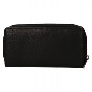 Dámska kožená peňaženka SendiDesign Rosana - čierna