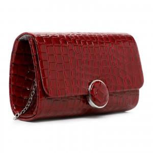Dámska listová kabelka Tamaris Tatiana - tmavo červená