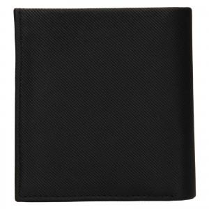 Pánska kožená peňaženka Calvin Klein Lemoar - čierna