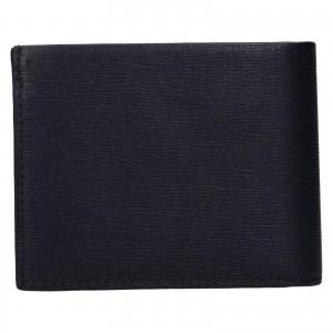 Pánska kožená peňaženka Calvin Klein Boleslav - tmavo modrá