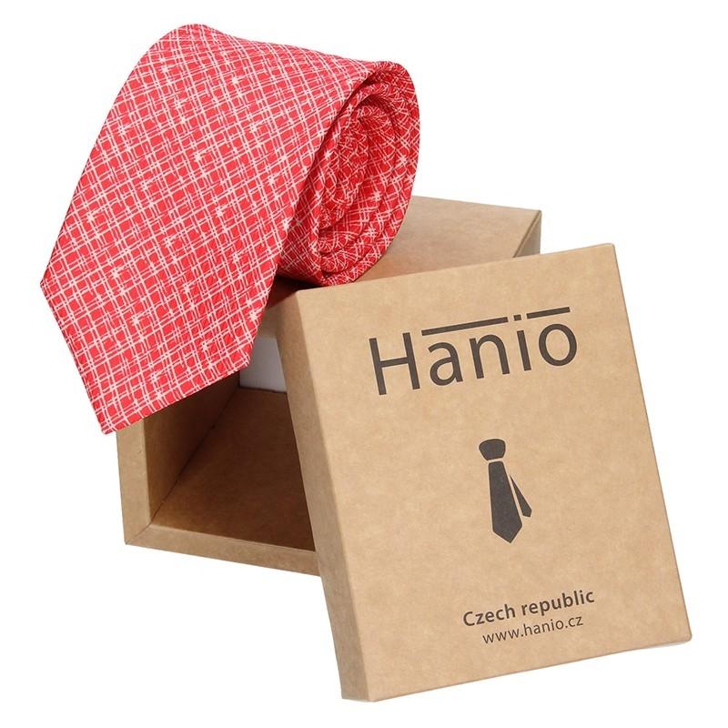 Pánska kravata Hanio Vincent - oranžová