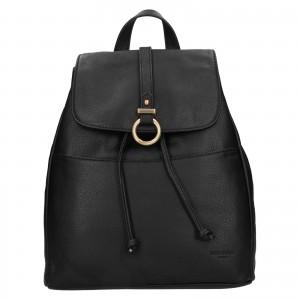 Elegantný dámsky batoh Hexagon Lili - čierna