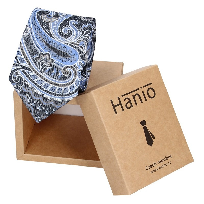Pánska hodvábna kravata Hanio Monet