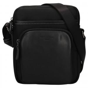 Pánska taška na doklady Hexagon Fonce - čierna