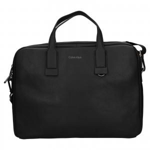 Pánska taška na notebook Calvin Klein Vilems - čierna