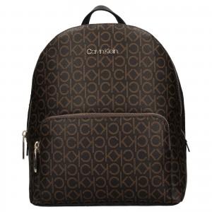 Dámsky batoh Calvin Klein Patricias - tmavo hnedá