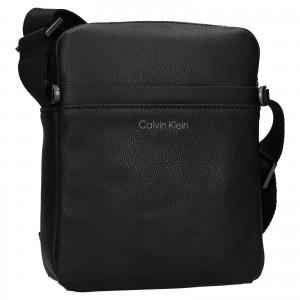 Pánska taška cez rameno Calvin Klein Timmo - čierna