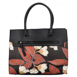 Dámska kabelka David Jones Flower - čierna