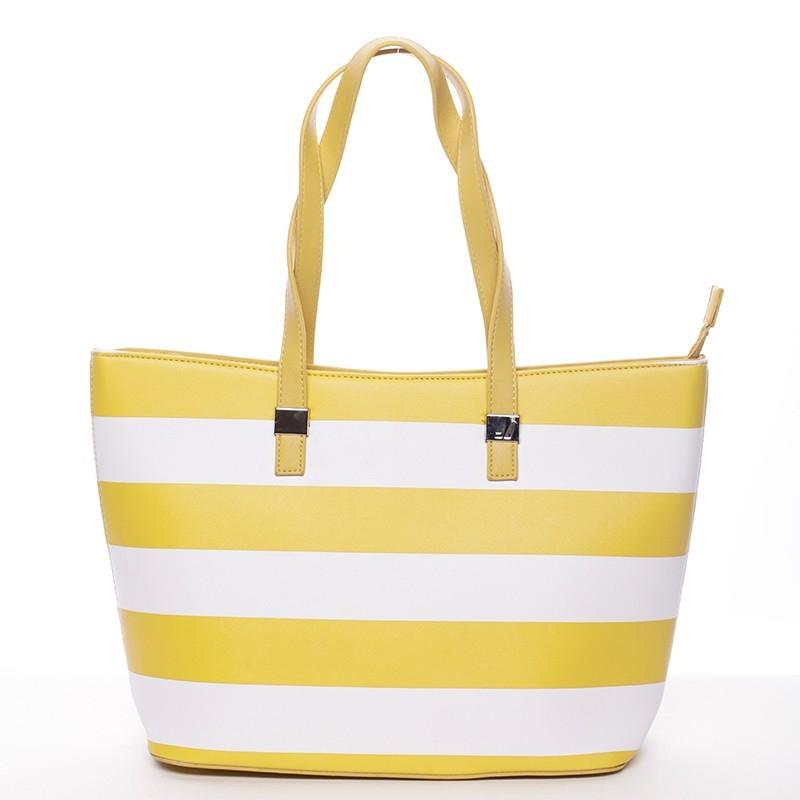 Dámska kabelka David Jones Cleopa - žltá