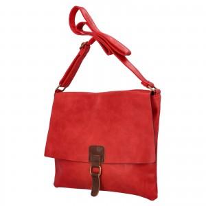Dámska crossbody kabelka Paolo Bags Petra - červená