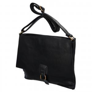 Dámska crossbody kabelka Paolo Bags Petra - čierna