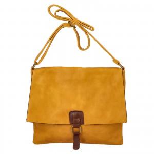 Dámska crossbody kabelka Paolo Bags Petra - žltá