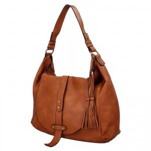 Dámská kabelka přes rameno Paolo Bags Kamila- hnedá