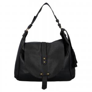 Dámská kabelka přes rameno Paolo Bags Kamila - čierna
