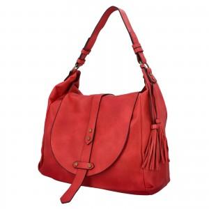 Dámská kabelka přes rameno Paolo Bags Kamila - červená