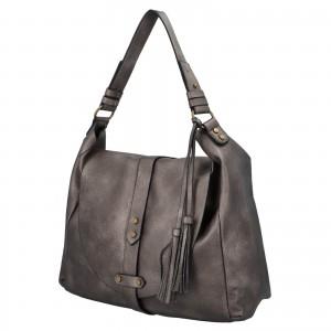Dámská kabelka přes rameno Paolo Bags Kamila - strieborna