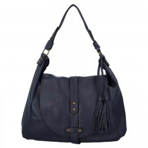 Dámská kabelka přes rameno Paolo Bags Kamila - modrá
