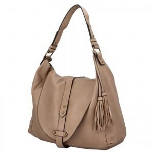 Dámská kabelka přes rameno Paolo Bags Kamila - béžová