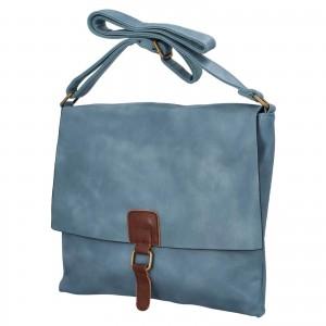 Dámska crossbody kabelka Paolo Bags Petra - tmavo modrá