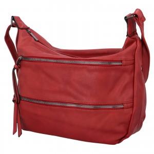 Dámska crossbody kabelka Paolo Bags Helena - červená