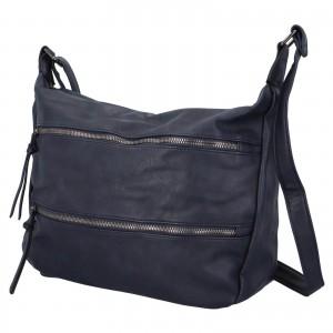Dámska crossbody kabelka Paolo Bags Helena - tmavo modrá