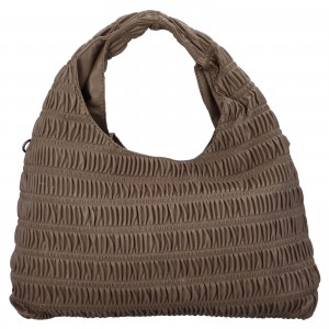 Dámska kabelka cez rameno Paolo Bags Jitka - hnedá