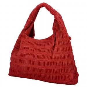 Dámska kabelka cez rameno Paolo Bags Jitka - červená