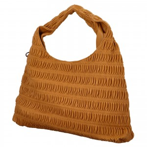Dámska kabelka cez rameno Paolo Bags Jitka - horčicová