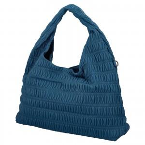 Dámska kabelka cez rameno Paolo Bags Jitka - svetlo modrá
