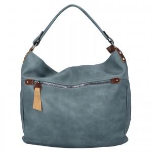 Dámska kabelka cez rameno Paolo Bags Jiřina - svetlo modrá