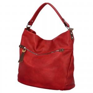 Dámska kabelka cez rameno Paolo Bags Jiřina - červená