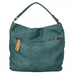 Dámska kabelka cez rameno Paolo Bags Jiřina - zelená
