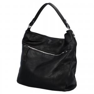 Dámska kabelka cez rameno Paolo Bags Jiřina - čierna