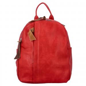 Dámsky batoh Paolo Bags Alice - červená
