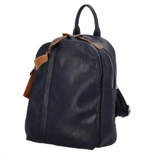 Dámsky batoh Paolo Bags Alice - modrá